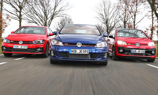 VW Golf GTI/VW Polo GTI/VW Up GTI