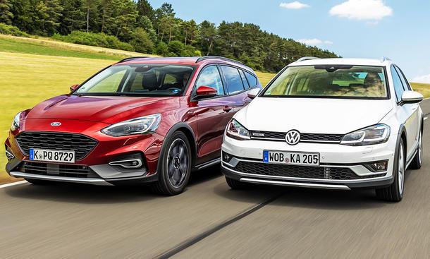 Ford Focus Active Turnier/VW Golf Alltrack