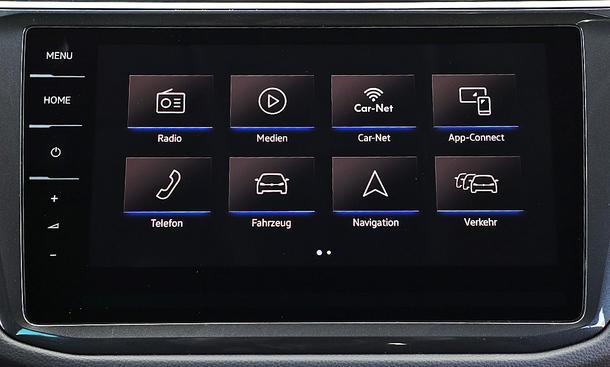 VW Tiguan: Connectivity