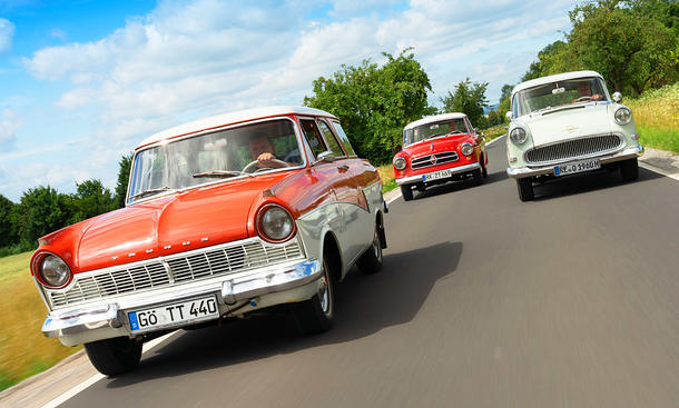 Ford Taunus 17M Turnier/Borgard Isabella Combi/Opel Rekord P1 Caravan