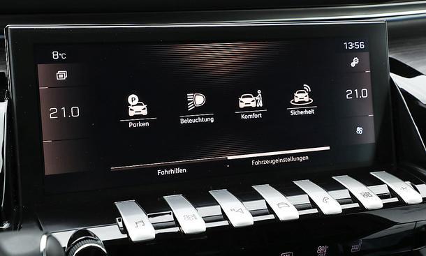 Peugeot 508: Connectivity