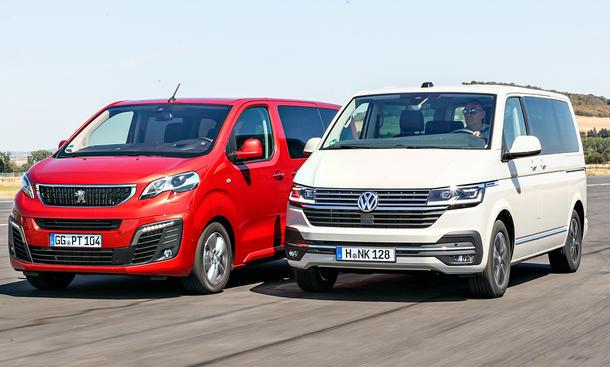 Peugeot Traveller/VW T6.1 Multivan