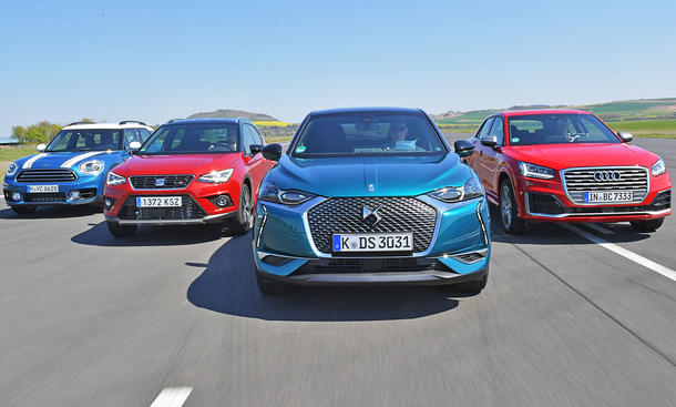 Audi Q2/DS 3 Crossback/Mini Countryman/Seat Arona
