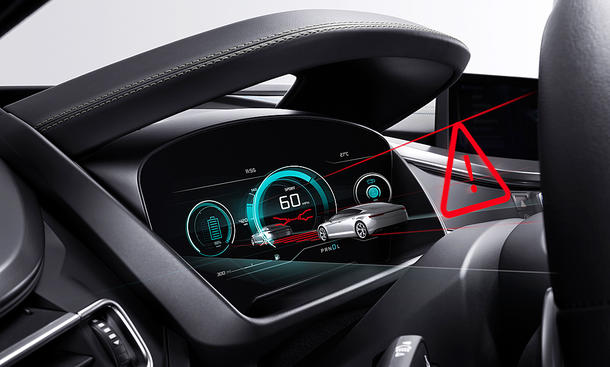 3D-Display fürs Auto (Bosch)
