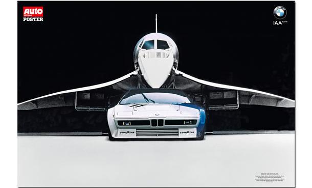 50 Jahre AUTO ZEITUNG: BMW-Poster