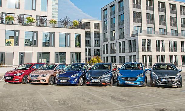 Ford Fiesta/Hyundai i20/Nissa Micra/Opel Corsa/Peugeot 208/Seat Ibiza