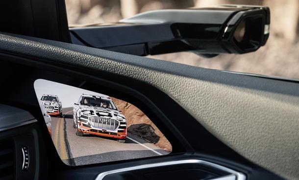 Audi e-tron: Virtueller Außenspiegel