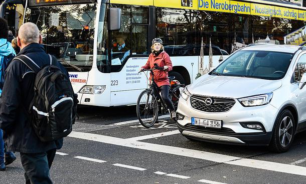 ADAC-Monitor: Verkehrszufriedenheit