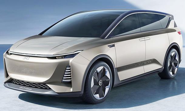Auto Mit Eingebautem Kühlschrank : Aiways u ion concept shanghai auto show autozeitung