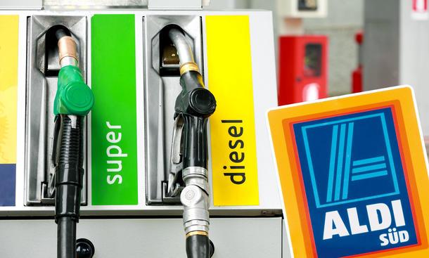 Aldi-Tankstelle