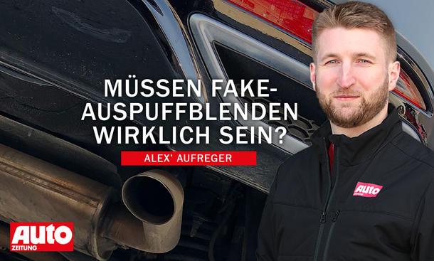 Alex' Aufreger: Fake-Auspuff
