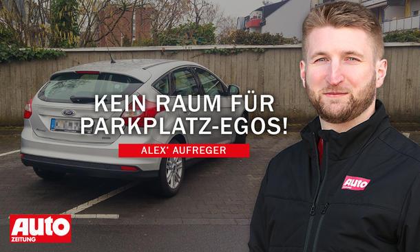 Alex' Aufreger: Falschparker
