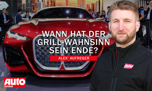 Alex' Aufreger: Große Kühlergrills