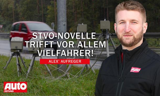 Alex' Aufreger: StVO-Novelle