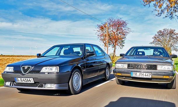Alfa Romeo 164 Q4/Audi 200 quattro 20V: Classic Cars