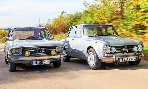 Alfa Romeo Giulia/Audi Super 90: Classic Cars