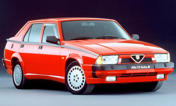 Alfa Romeo 75 Facelift