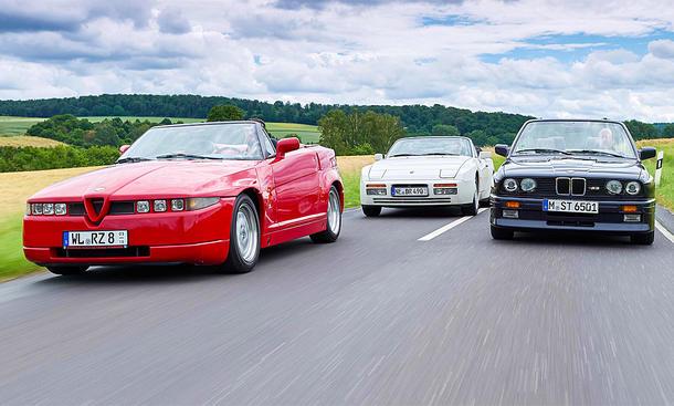 Alfa Romeo R.Z./Porsche 944 S2 Cabrio/BMW M3 Cabrio