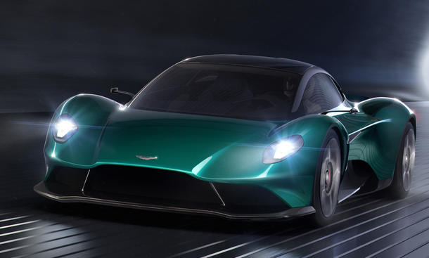 Aston Martin Vanquish Vision Concept (2019)