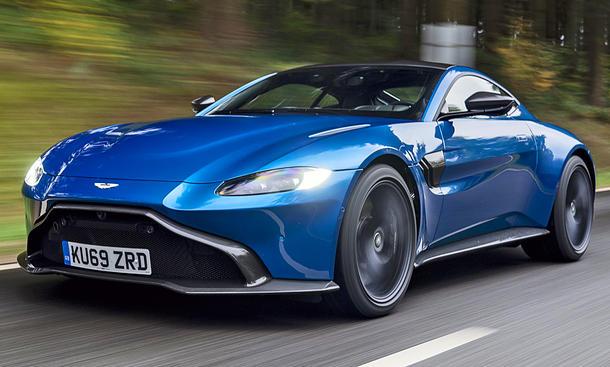 Neuer Aston Martin Vantage Amr 2019 Testfahrt Autozeitung De