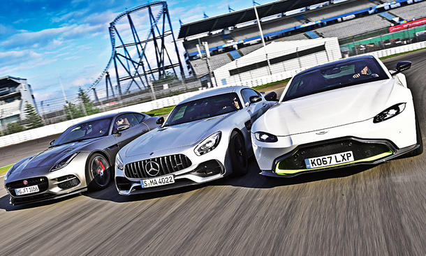 Aston Martin Vantage/Jaguar F-Type R/Mercedes-AMG GT S