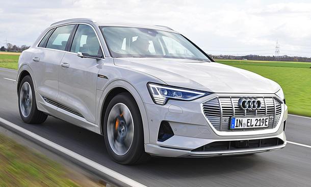 Audi e-tron 55 quattro: Test