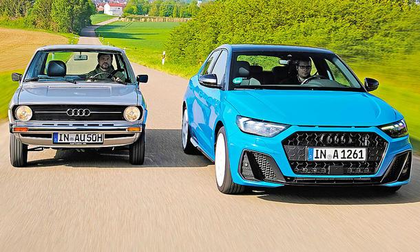 Audi 50/Audi A1: Vergleich