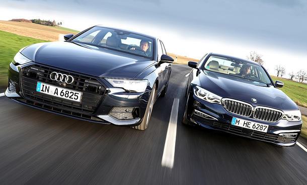 Audi A6/BMW 5er: Test