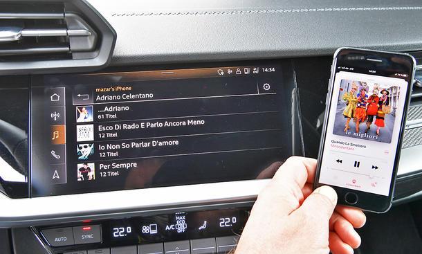 Audi A3: Connectivity