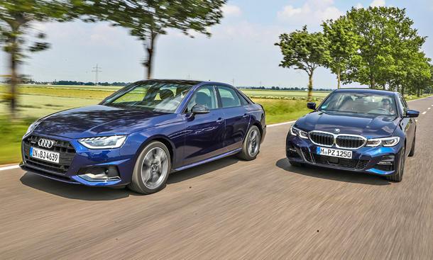 Audi A4/BMW 3er