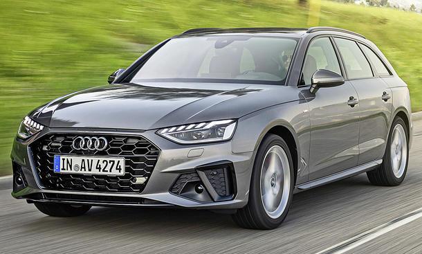 Audi A4 Avant Facelift Test Autozeitung De