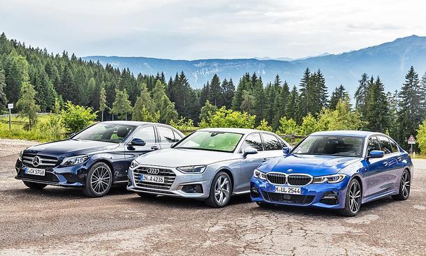 Mercedes C-Klasse/Audi A4/BMW 3er