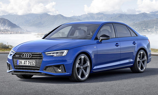 Audi A4 Modellpflege (2018)