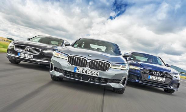 Volvo S90/BMW 5er/Audi A6