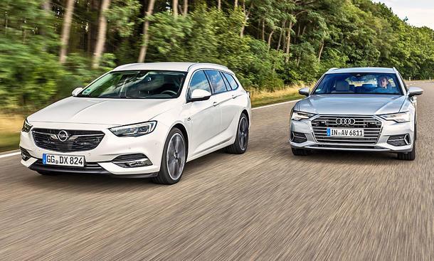 Opel Insignia Sports Tourer/Audi A6 Avant