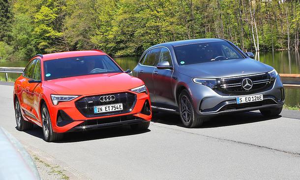 Audi e-tron Sportback/Mercedes EQC