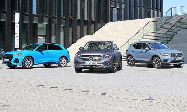 Audi Q3/Mercedes GLA/Volvo XC40