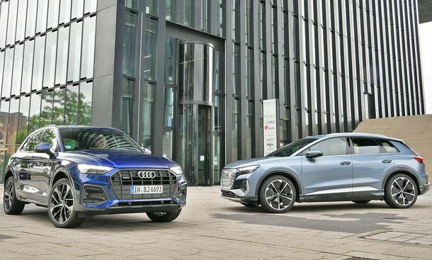Audi Q5 40 TDI quattro/Audi Q4 e-tron 50 quattro