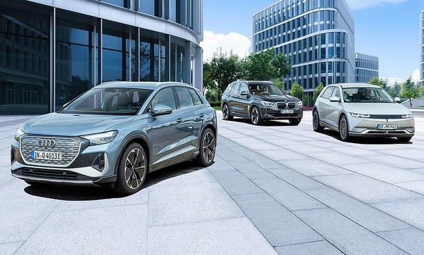 Audi Q4 e-tron/BMW iX3/Ioniq 5