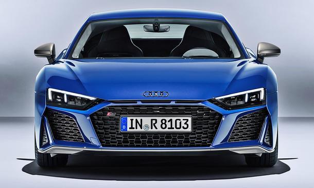 Audi R8 Facelift (2019)
