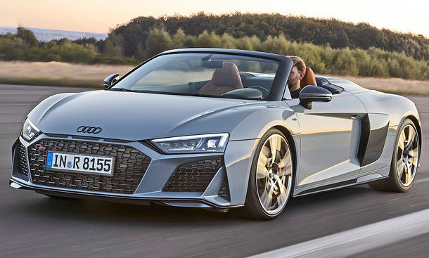 Audi R8 Spyder V10 performance Facelift