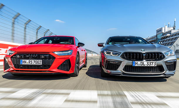 Audi RS 7 Sportback/BMW M8 Competition Gran Coupé