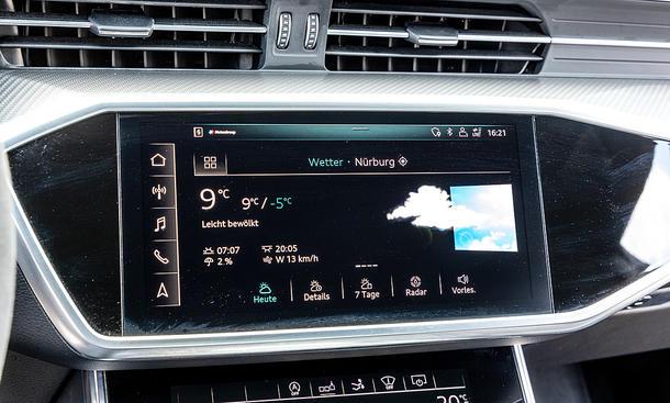 Audi RS 7 Sportback: Connectivity
