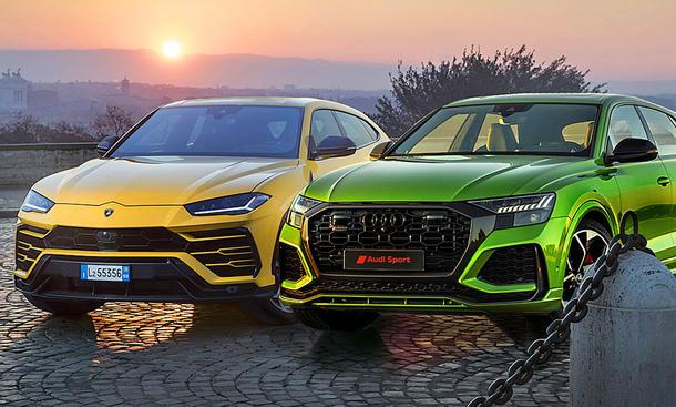 Audi RS Q8/Lamborghini Urus