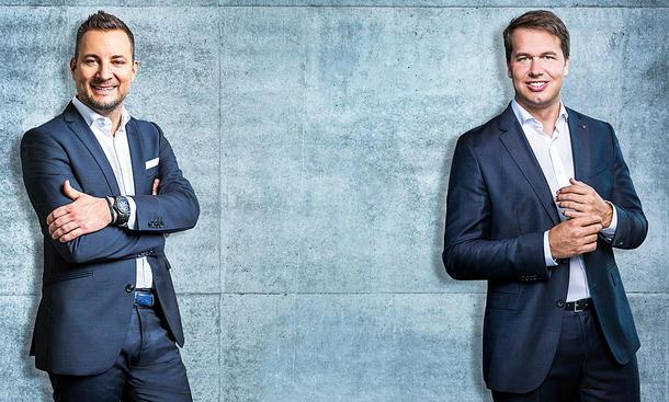 Neue Doppelspitze für die Audi Sport GmbH