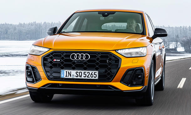 Neuer Audi SQ5 Sportback TDI (2021)