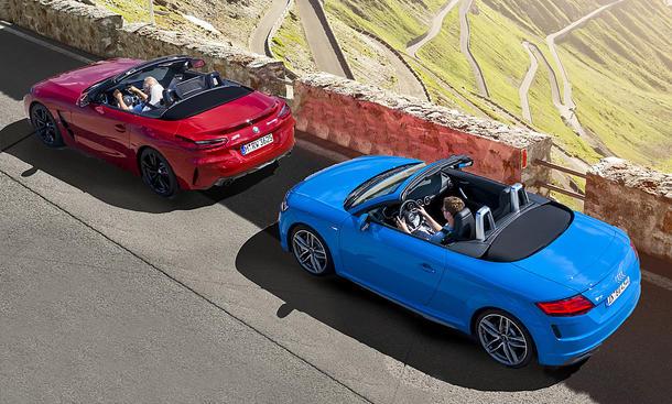 BMW Z4/Audi TT Roadster