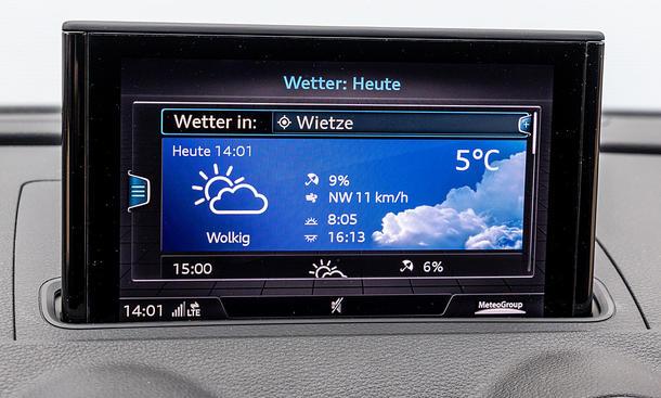Audi A3 Limousine: Connectivity