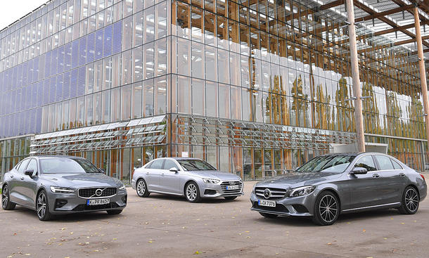 Audi A4/Mercedes C-Klasse/Volvo S60