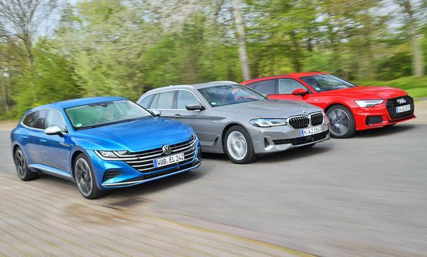 VW Arteon Shooting Brake/BMW 5er Touring/Audi A6 Avant